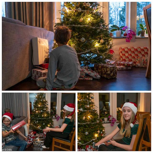 Julafton och annandag jul hos oss