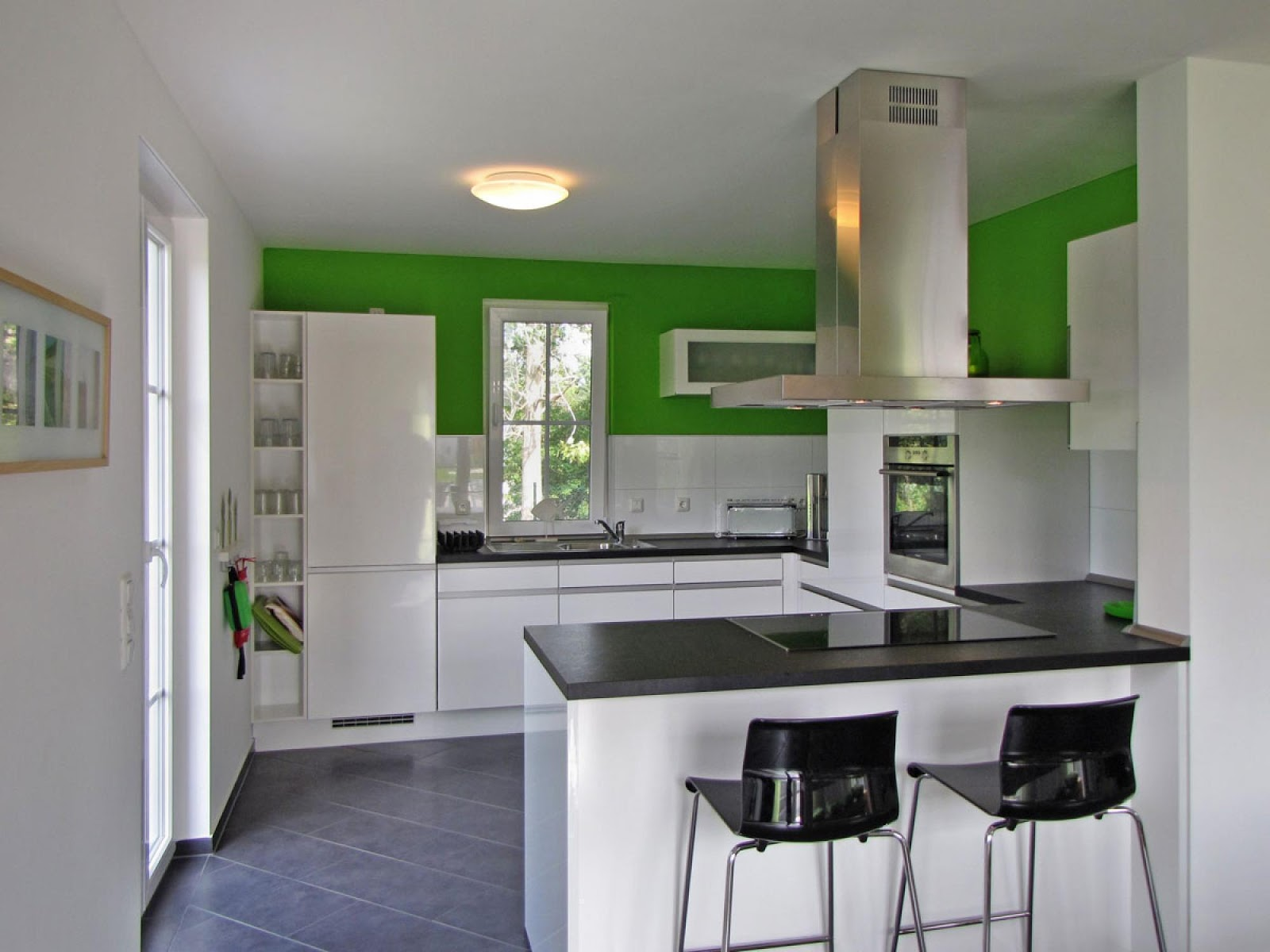 Desain Dapur Terbuka Minimalis Sobhome