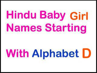 Modern Hindu Baby Girl Names Starting With D In Sanskrit