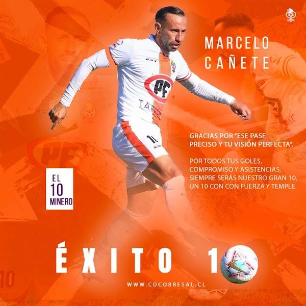 Oficial: Cobresal, Cañete sale traspasado al Universidad de Chile