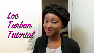 Loc Twist Turban Tutorial