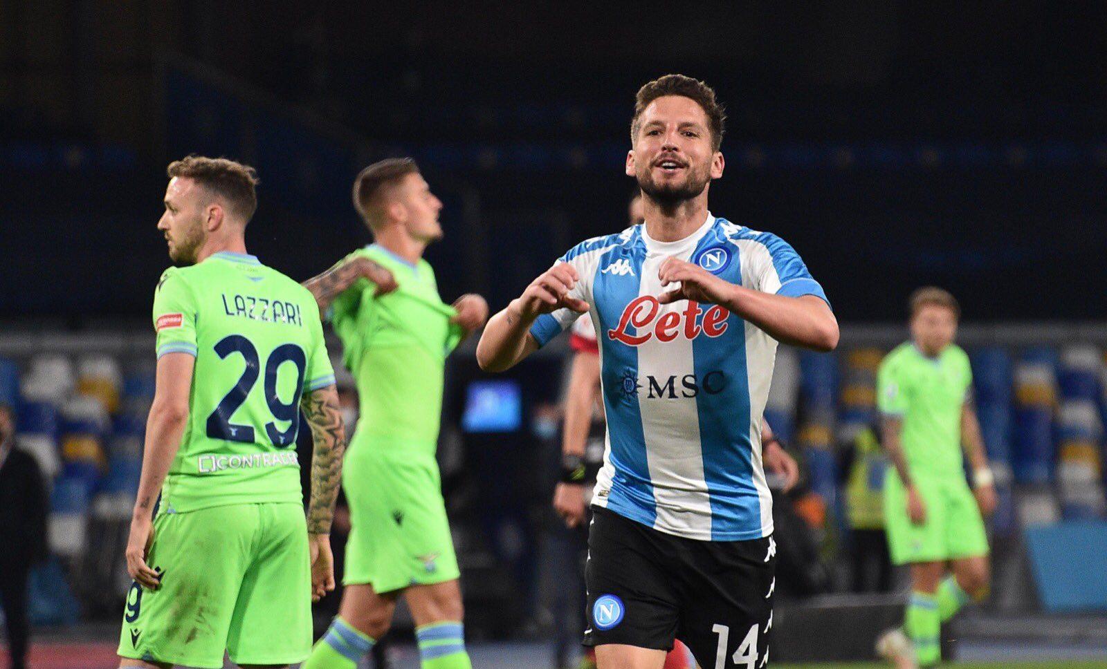 ملخص واهداف مباراة نابولي ولاتسيو (5-2) الدوري الايطالي
