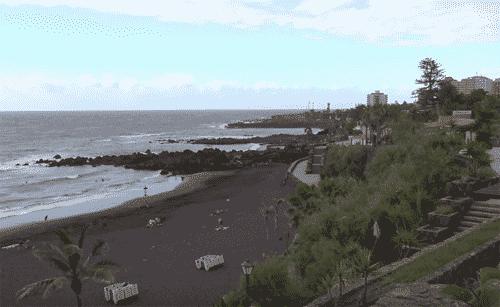 Vista de Playa Jardín