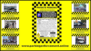No Parking , Parking Enforcement Signs