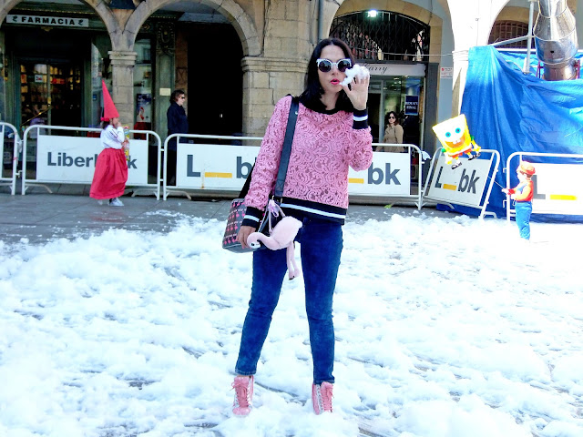 fashion, moda, look, outfit, blog, blogger, walking, penny, lane, streetstyle, style, estilo, trendy, rock, boho, chic, cool, casual, ropa, cloth, garment, inspiration, fashionblogger, art, photo, photograph, Avilés, asturias,carnaval, carnival, party, flamingo, flamenco