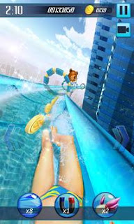 water slide 3d mod for android