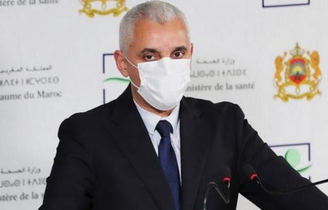 """وزير الصحة يعلن عن تعبئة دعم لوجيستيكي"""" لفائدة العاصمة الإقتصادية وهذا ما صرح به اليوم للصحافة✍️👇👇👇"""