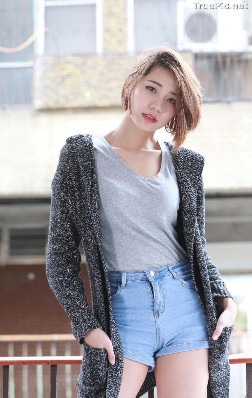 Image Pretty Taiwan Showgirl - 黃竹萱 - Beautiful Long Legs Girl - TruePic.net - Picture-3