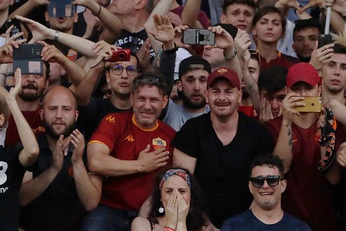 Fans Francesco Totti