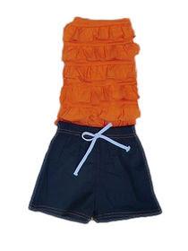 baju anak warna orange tahun 2018