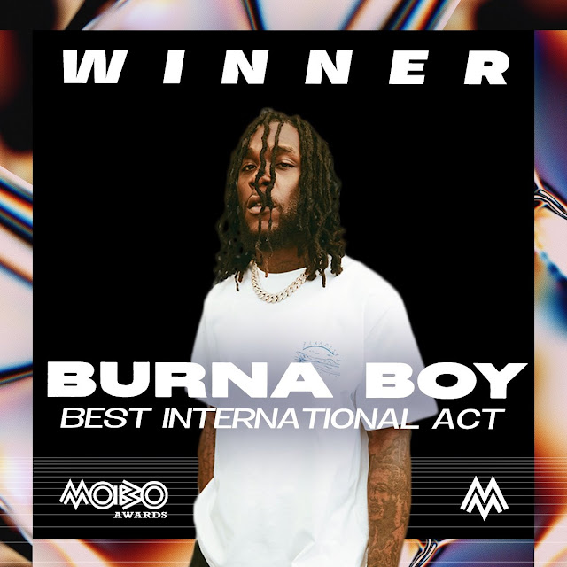 2020 MOBO Awards: Nigerian Stars Conquer As Wizkid, Burna Boy Win Big (See Full List)