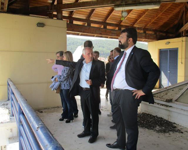 Γιάννενα: Ο Υφυπουργός Αθλητισμού στον Πύργο Κωπηλασίας του ΕΑΝΚΙ