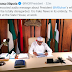 Presidency shares photo of Nigerian President, Buhari in his office