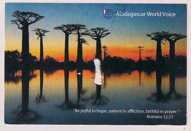 Madagascar World Voice QSL