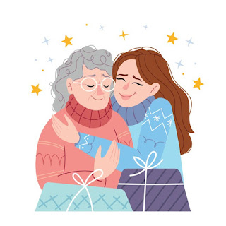 VectorStock A mother hugging her daughter Royalty Free Vecto