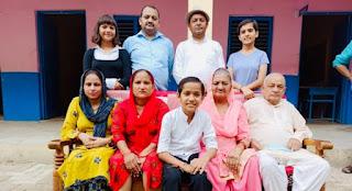 Kautilya Pandit Family