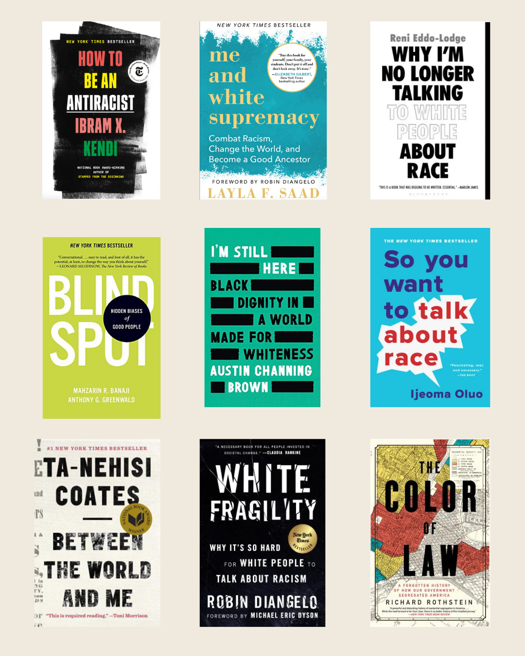 10 Books to Read to Educate Yourself About Anti-Racism and Race