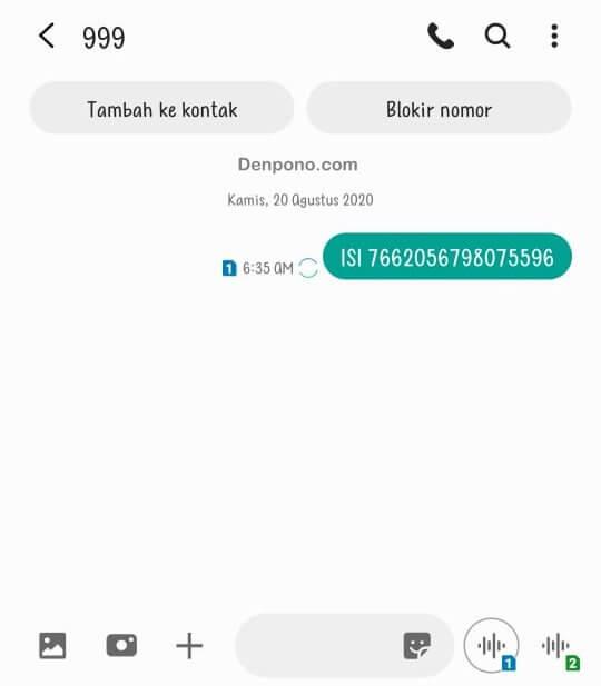 Cara Isi Voucher Smartfren Via SMS
