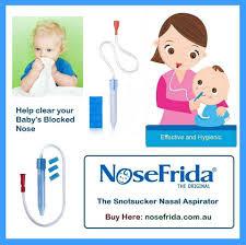Baby Nasal Aspirator NoseFrida the Snotsucker 20 Filters