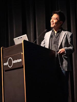 photo of Au Yong at the Exploratorium