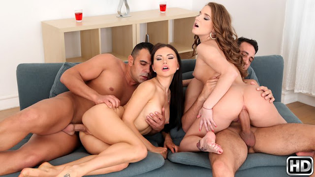 Sofi Goldfinger, Sasha Rose – Getting Goldfinger (Euro Sex Parties)