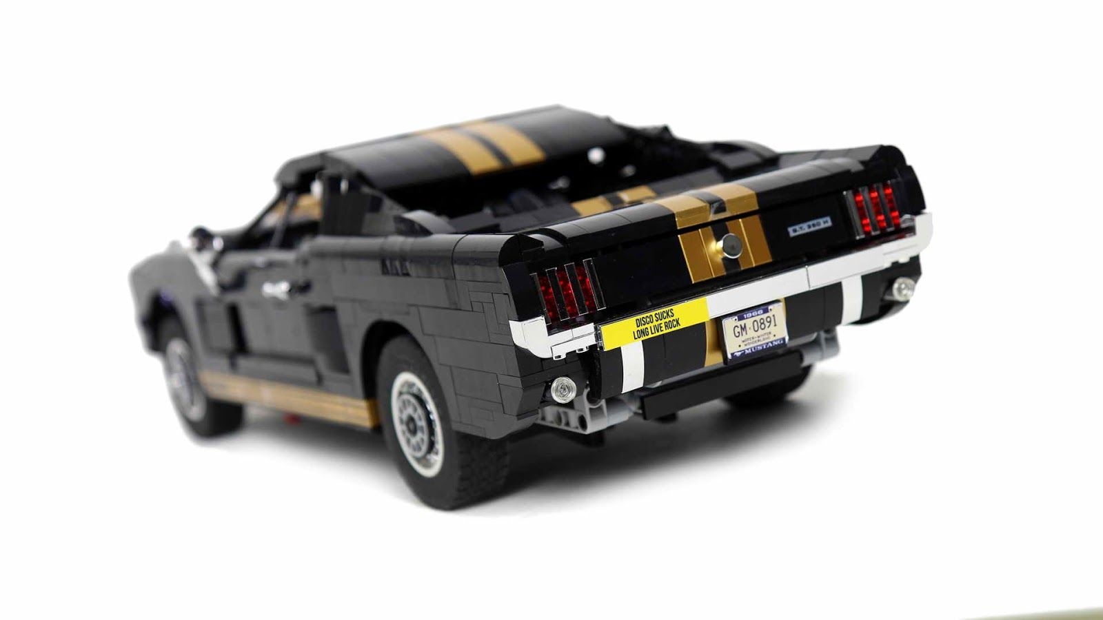 lego moc ford mustang gt 350 h. Black Bedroom Furniture Sets. Home Design Ideas