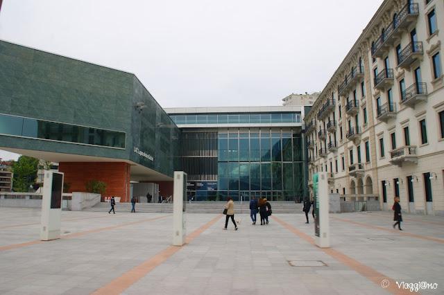 Il moderno edificio sede del LAC