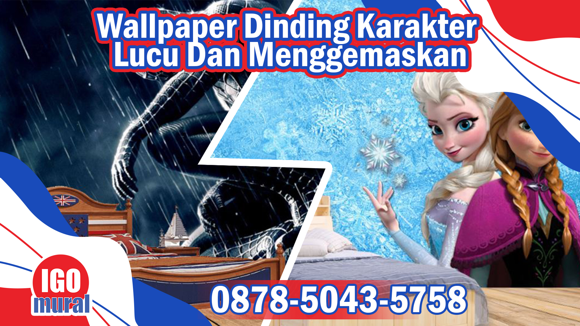 Wallpaper dinding Karakter