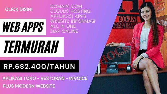 promo web app murah website dan aplikasi kasir toko restoran murah