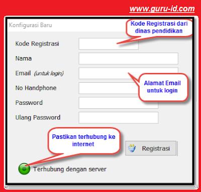 gambar cara registrasi aplikasi rkas kemendikbud