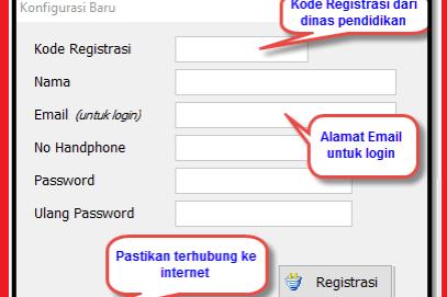 Cara Registrasi Aplikasi RKAS dan Mendapatkan Kode Registrasi