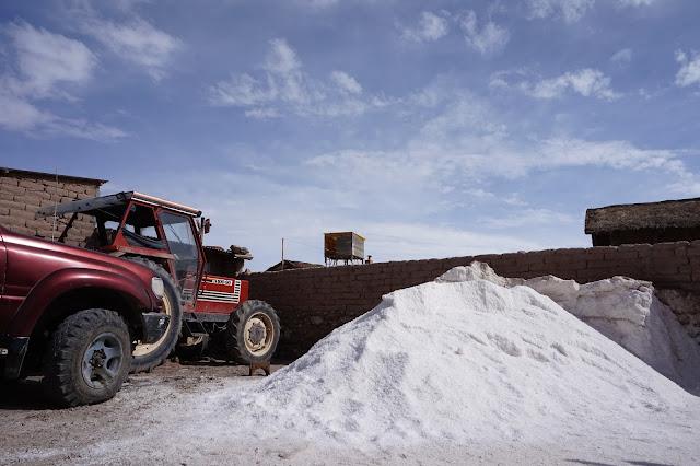 Red Planet Tour Uyuni Bolivia salt flats salar de uyuni salt factory town