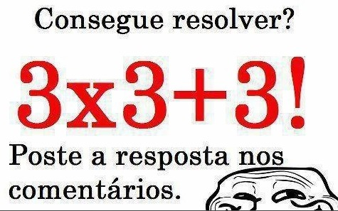 Resposta 3×3+3!