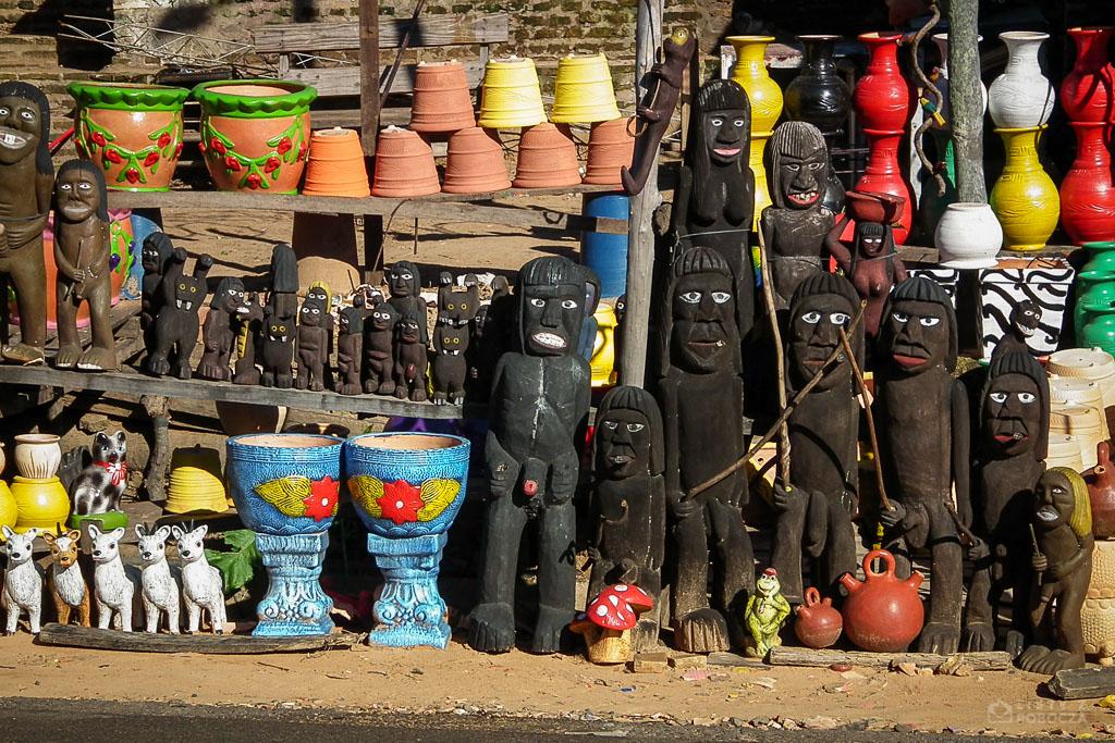 Przydrożne rzeźby w Paragwaju
