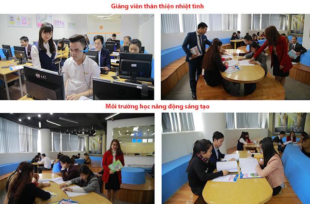 Môi trường học tại khóa học đồ họa Photoshop của Việt Tâm Đức