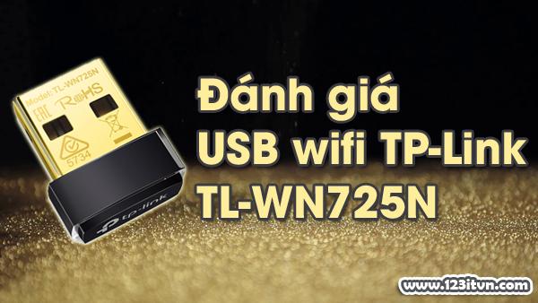 Đánh giá USB wifi TP-Link TL-WN725N