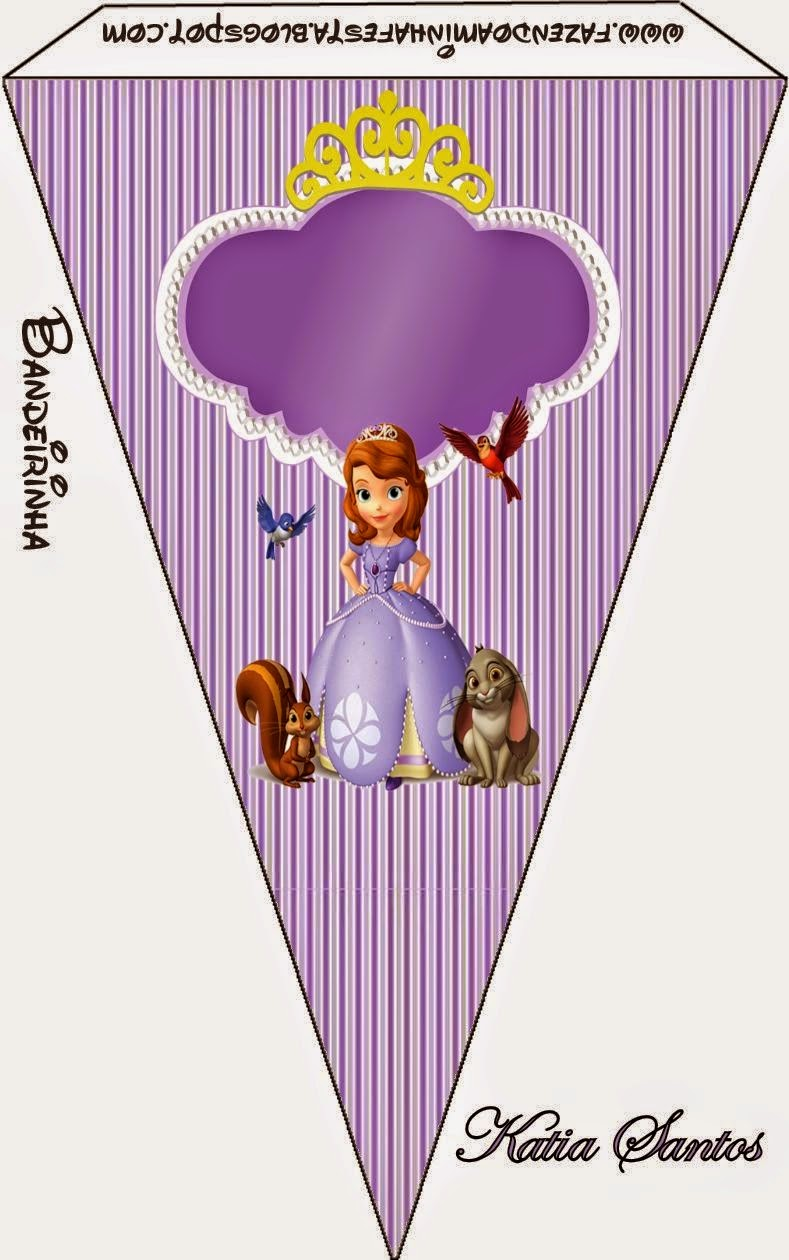 Sweet Sofia The First Free Party Printables Oh My