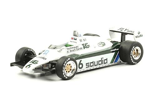 Williams FW08 1982 Keke Rosberg 1:43 Formula 1 the car collection salvat