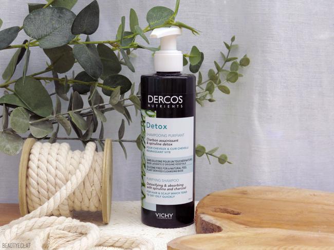 Vichy Dercos Nutrients shampoing purifiant detox avis