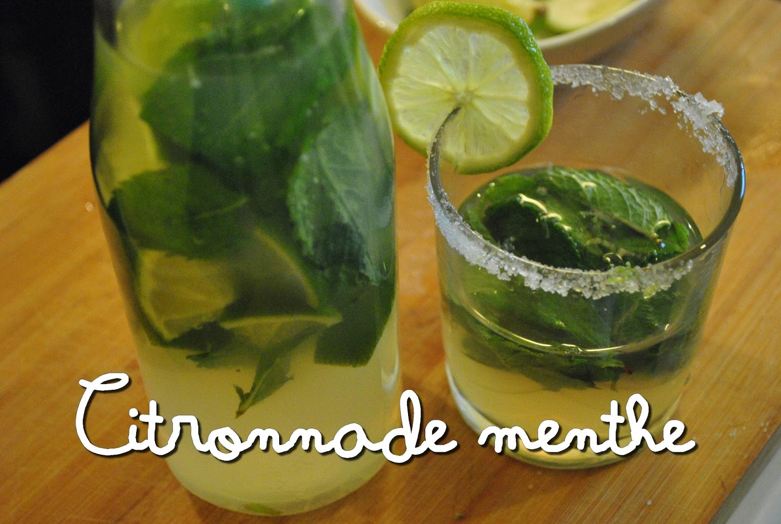 citronnade menthe limonade