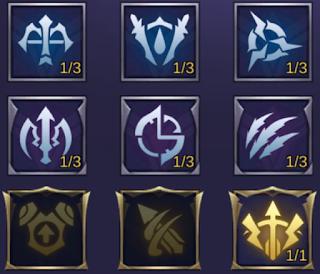 emblem yang cocok untuk hero claude