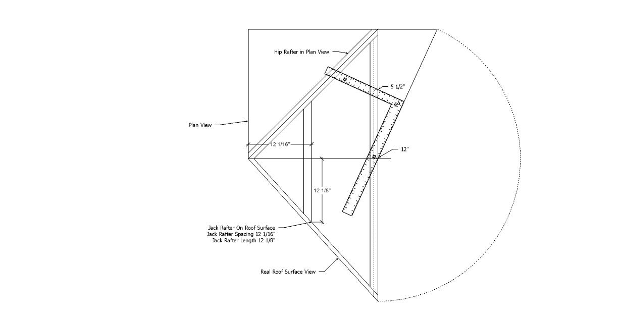 Roof Framing Geometry: Full Length Roof Framer the Missing