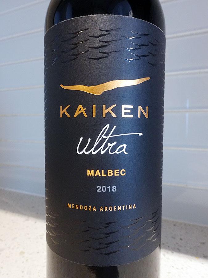 Kaiken Ultra Las Rocas Malbec 2018 (89 pts)