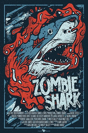 Zombie Shark (2015) Hindi Dual Audio 480p 720p Bluray
