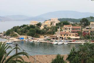 Kassiopi. The view from the fortress. Corfu. Кассиопи. Вид из крепости. Корфу.