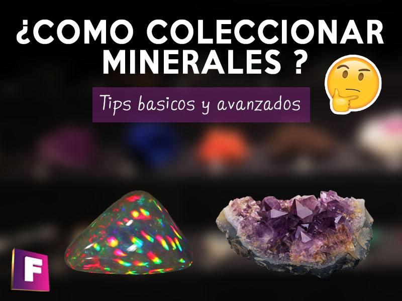 en esta guia encontraras la informacion necesaria para ordenar y comenzar una gran colección de minerales
