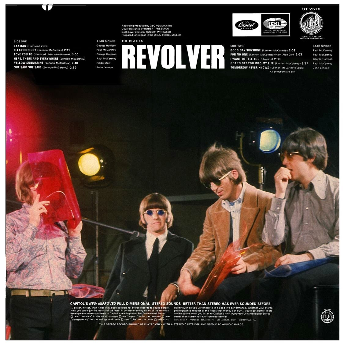 The Daily Beatle Album Covers Revolver