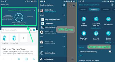أفضل 5 متصفحات أندرويد مدمج به VPN مجاناً