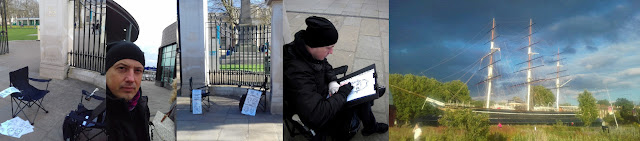 Live Caricature @ Cutty Sark Gardens