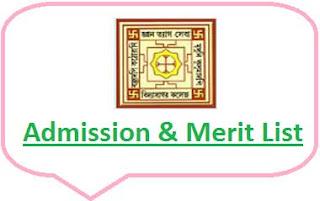 Vidyasagar College Merit List